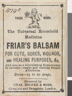 Friar's Balsam