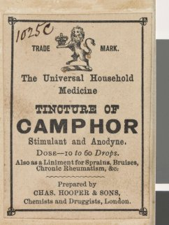 Tincture of Camphor