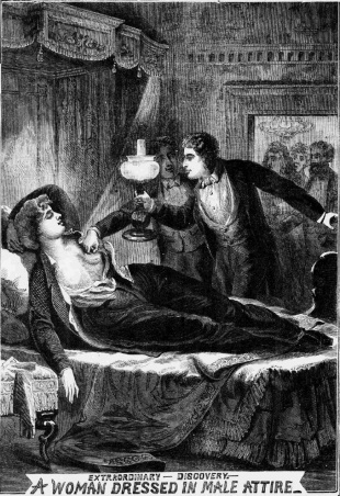 Illustrated Police News 1872 Novermber 2 Woman Dressed as a Man