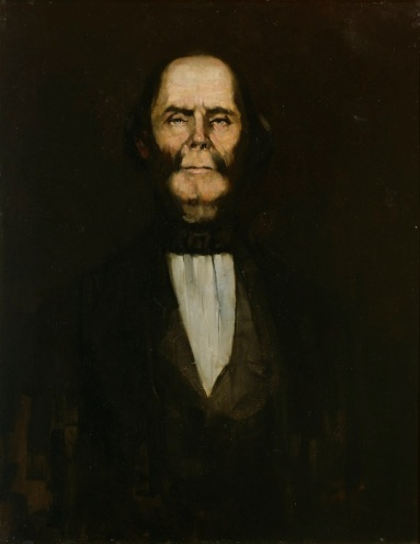 William Buckley portrait oil on canvas, 88.7 x 68.4 cm, State Library of Victoria, author unknown